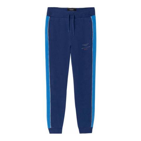 Hackett London Navy Aston Martin Sweatpants