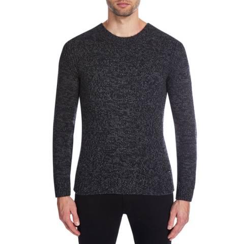 BOSS Dark Grey T-Bianchi Cashmere/Wool Jumper