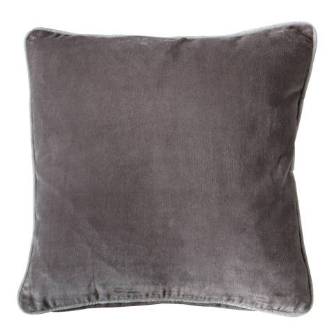 Gallery Taupe Eterno Velvet Cushion 45x45cm