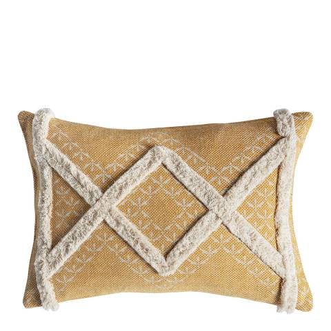 Gallery Ochre Gringo Tufted Cushion 35x50cm