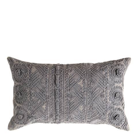 Gallery Slate Grey Pasco Stonewash Cushion 30x50cm