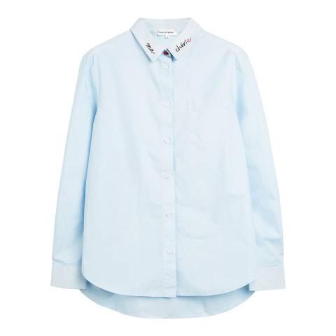 Chinti and Parker Blue Chinti Boyfriend Shirt