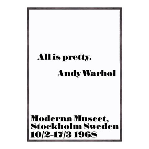 Andy Warhol All is pretty 100 x 70cm