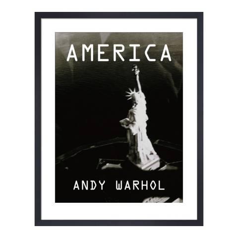 Andy Warhol Statue of Liberty, c.1985 Framed Print, 36x28cm
