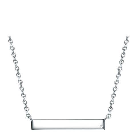 Tess Diamonds Sterling Silver Diamond Necklace
