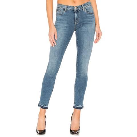 J Brand Blue Denim Skinny Stretch Jeans