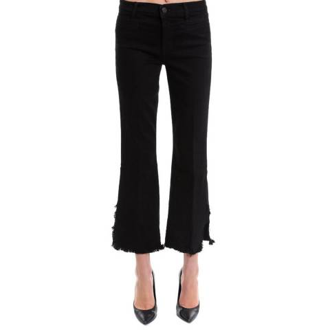 J Brand MID RISE CROP FLARE