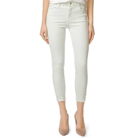 J Brand Mint Alana Skinny Stretch Jeans