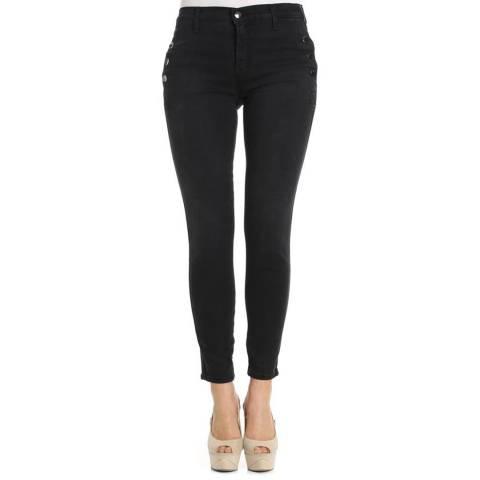 J Brand Black Zion Skinny Stretch Jeans