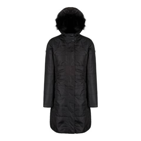 Regatta Black Fermina II Puffer Parka Jacket