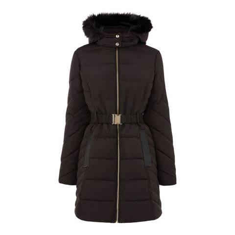 Oasis Black Hastings Padded Jacket