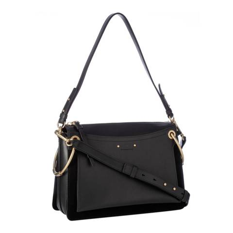 Chloe Black Chloe Medium Roy Shoulder Bag