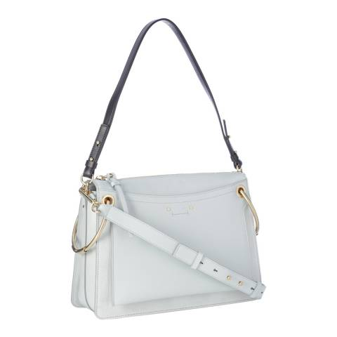 Chloé Airy Grey Chloe Medium Roy Shoulder Bag