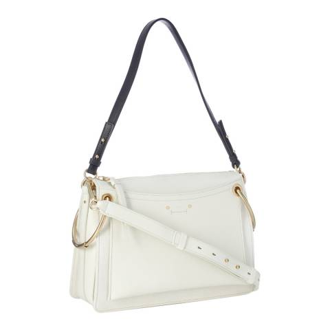 Chloe Natural White Chloe Medium Roy Shoulder Bag