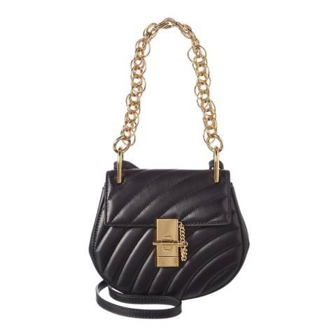 Chloé Black Chloe Quilted Small Shoulder Bag