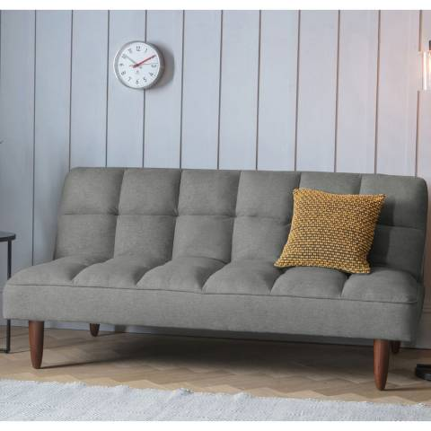 Gallery Oslo Sofa bed, Double Mattress (Frost Grey)