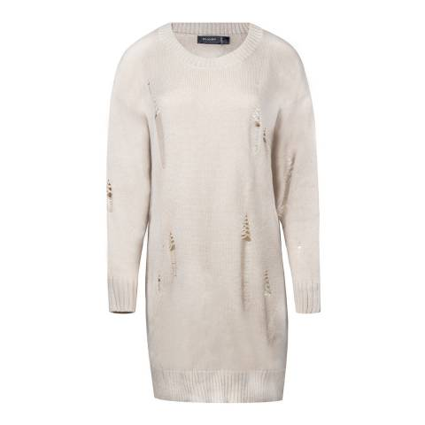 Religion Oatmeal Idyllic Wool Blend Jumper