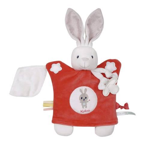 Kaloo Coral Rabbit Teddy Puppet
