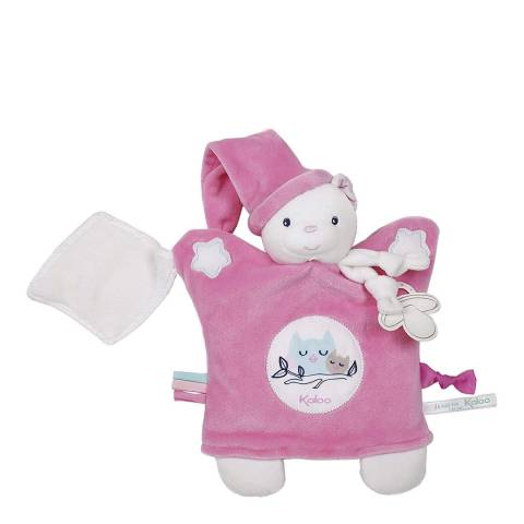 Kaloo Pink Bear Teddy Puppet