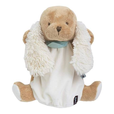Kaloo Les Amis Caramel Puppy Teddy Puppet