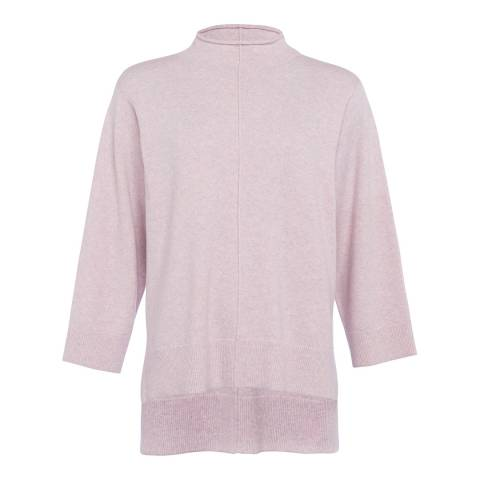 French Connection Lilac Ebba Vhari Wool Blend Jumper
