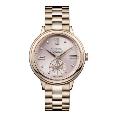 Vivienne Westwood Pink/Nude Portobello Stainless Steel Watch