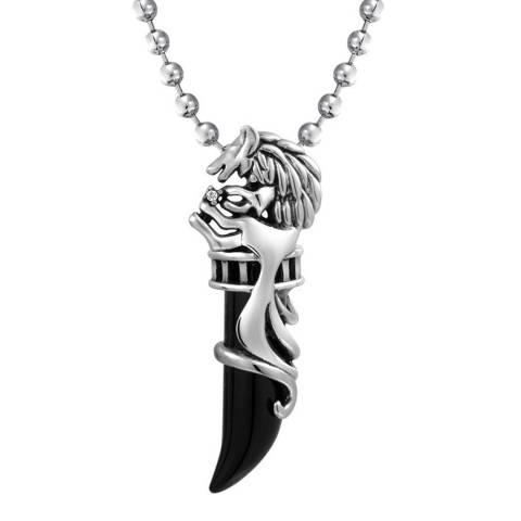 Stephen Oliver Men'S Black Onyx Necklace