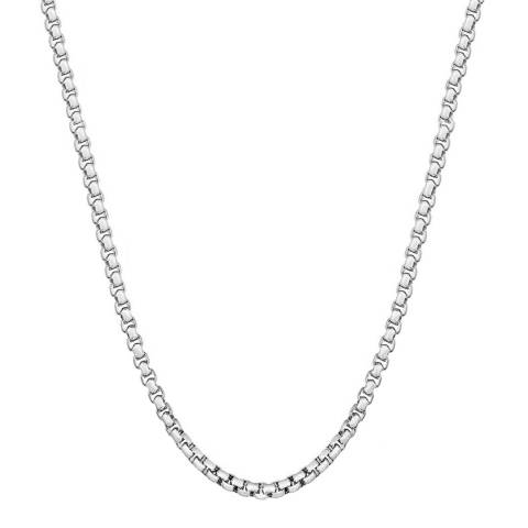 Stephen Oliver Men's Silver Necklace