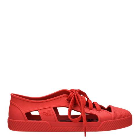 Vivienne Westwood for Melissa Red VW Brighton Sneaker