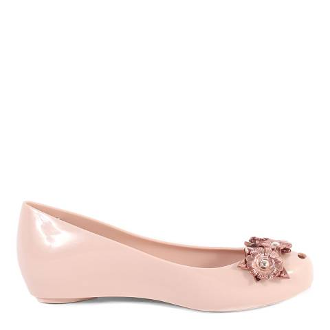 Melissa Blush Pink Ultragirl Nature Ballet Pump