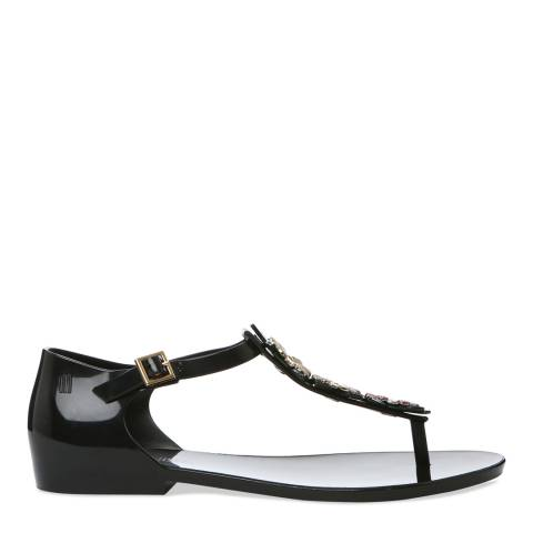 Melissa Black Honey Nature Sandal