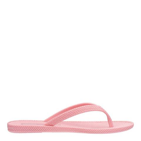 Melissa + Salinas Pink Salinas Summer Braid Flip Flop