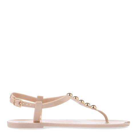 Carvela Kurt Geiger Nude Embellished Bora Sandals