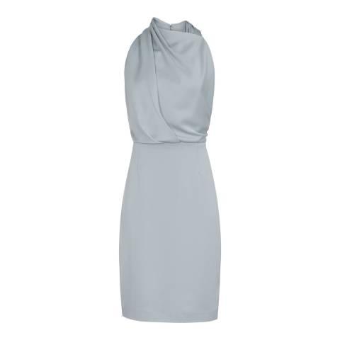 Reiss Blue Rana Dress