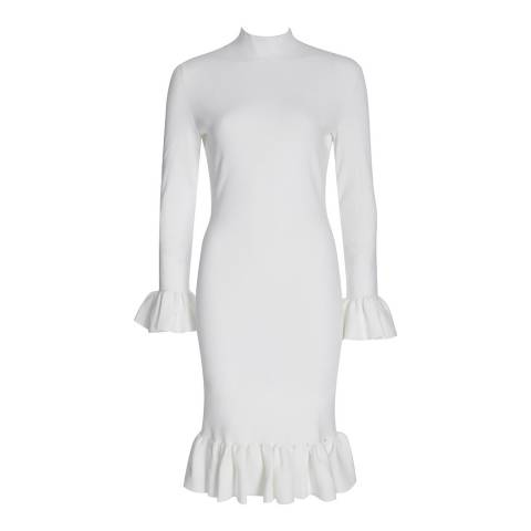 Reiss Off White Holly Dress