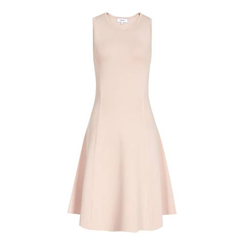 Reiss Nude Millie Dress