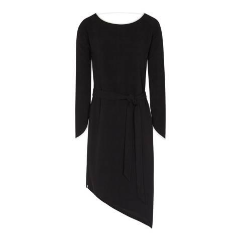 Reiss Black Agnes Dress