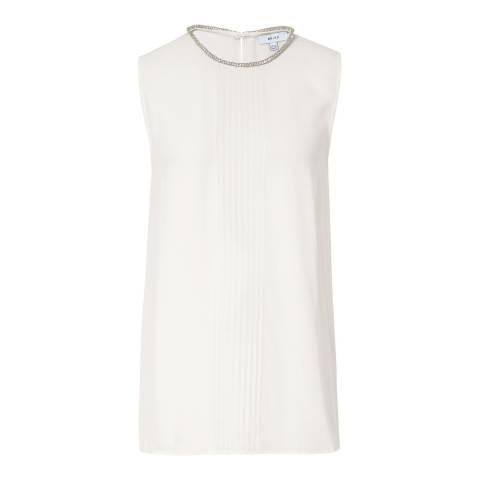 Reiss Off White Milla Top