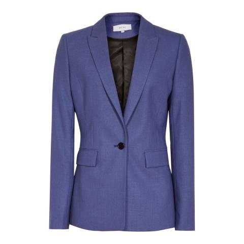 Reiss Blue Verso Wool Blazer