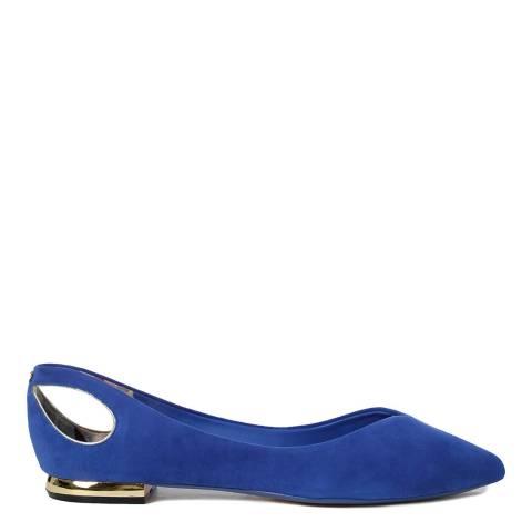 Ted Baker Cobalt Blue Dabih Ballet Flats