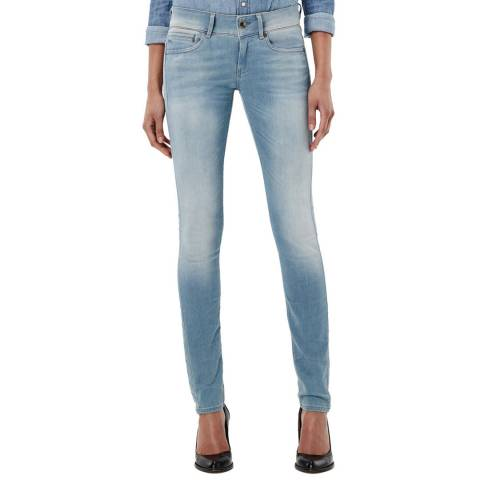 G-Star Light Blue Midge Cody Stretch Skinny Jeans