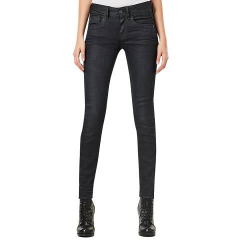 G-Star Black Lynn Stretch Skinny Jeans