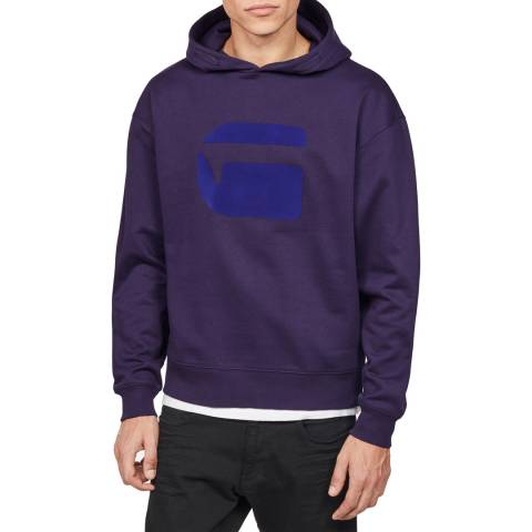 G-Star Plum Stor Hooded Sweater