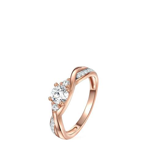 Carat 1934 Rose Gold Plated Ring
