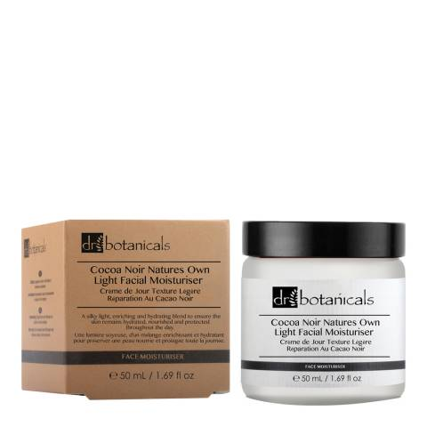 Dr. Botanicals Coco Noir Natures Own Light Facial Moisturiser