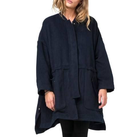 Religion Black Central Coat