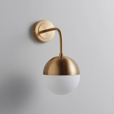 Native Home & Lifestyle Gold Wall Lamp 23x15cm