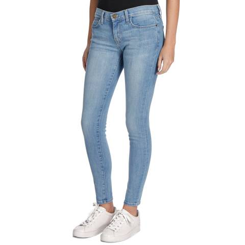 Current Elliott Light Blue Richland Ankle Skinny Stretch Jeans