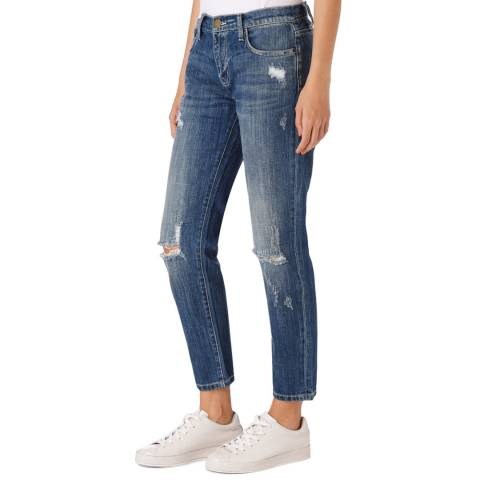 Current Elliott Light Blue Fling Jeans