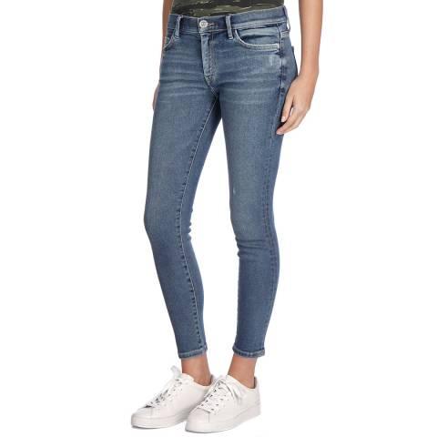 Current Elliott Blue Wash Zayden Stiletto Stretch Jeans